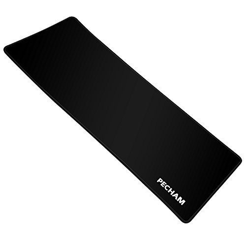 Pecham Large Computer Gaming Mauspad XXL–mouseuse Pad with Non-Slip Rubber Base – Dimensions: 770X290X3 MM Special Surface Texture For Precise Control mat waterproof Mo