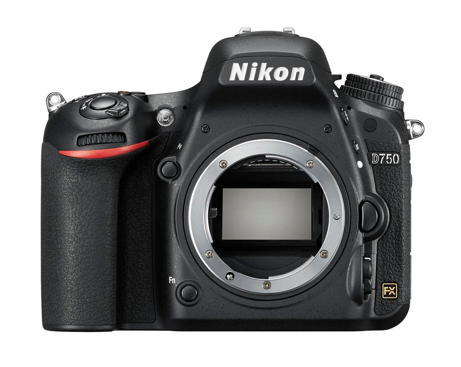 Spiegelreflexkamera Nikon D750 24.3 MP DSLR, GEHÄUSE, GEBRAUCHTWARE