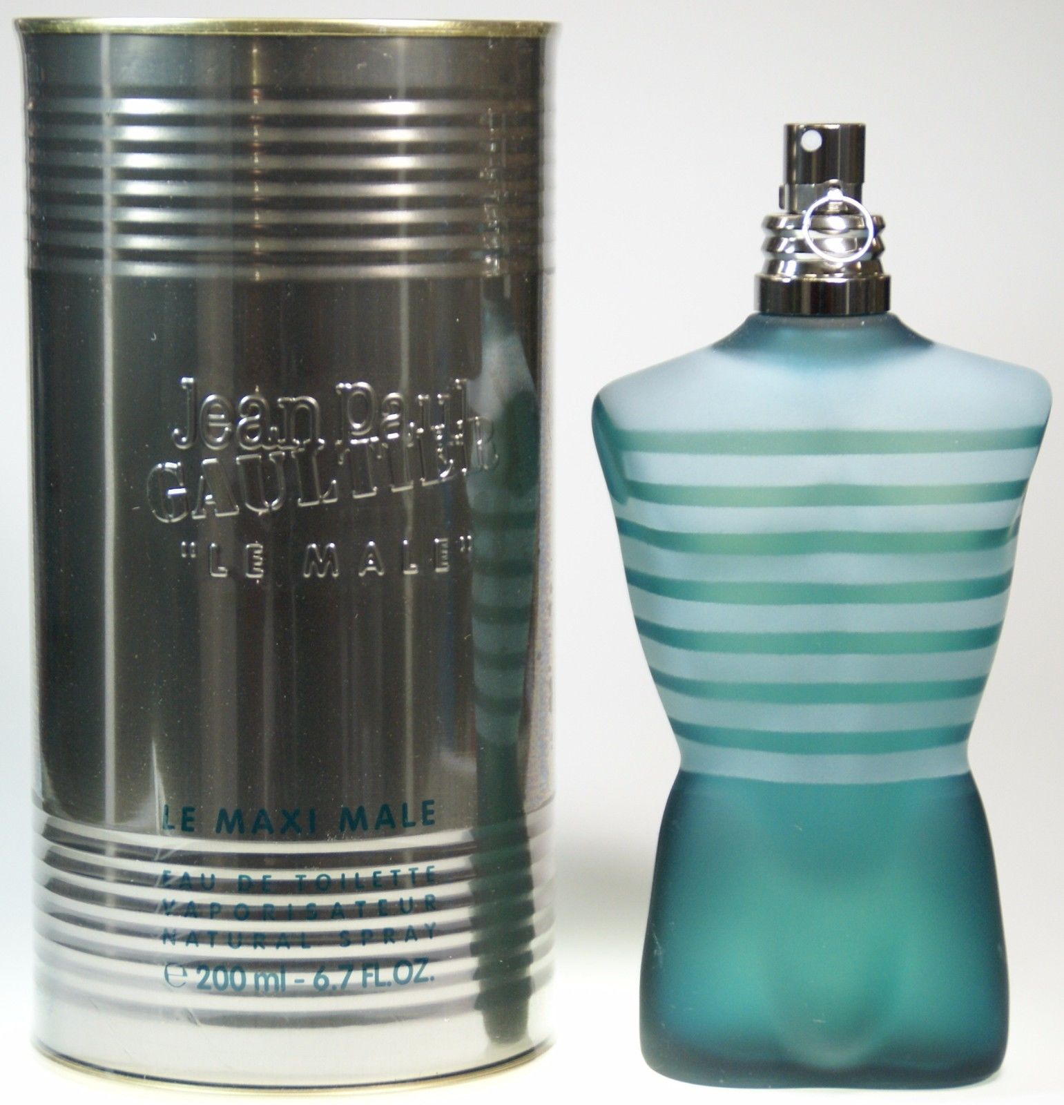 Jean Paul Gaultier Le Male EDT 200 ml Eau de Toilette Spray NEU MAXI XXL