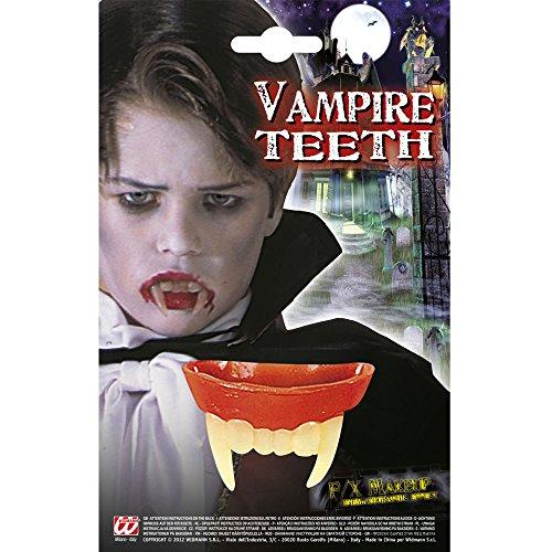 Widmann 4089B Vampirgebiss für Kinder, Kostüm, One Size