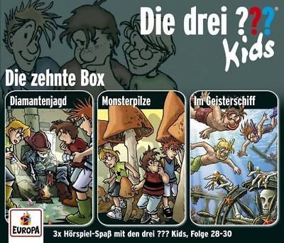 Die drei ??? Kids 3er Box. Folgen 28 - 30 (drei Fragezeichen) 3 CDs