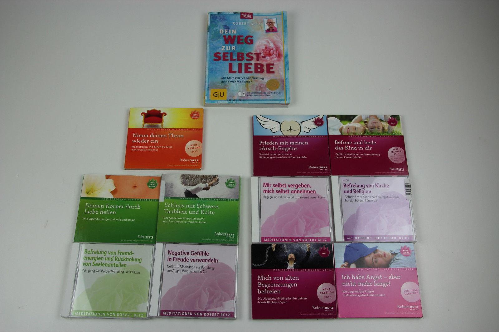 Robert Betz 11 CDs Meditation, Persönlichkeitsentwicklung + Buch