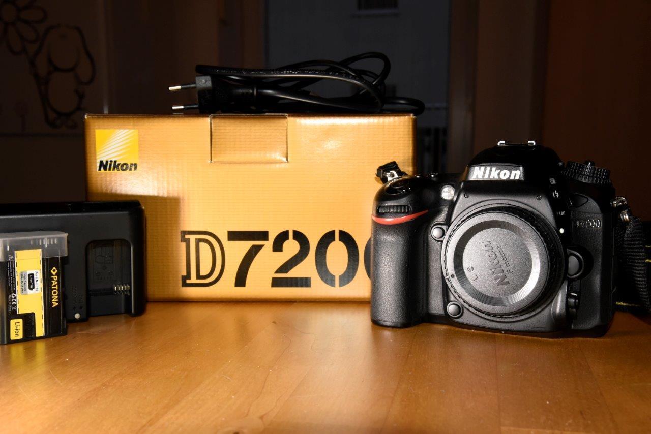 Nikon D D7200 24.2 MP |  AF-S DX 18-105mm f/3.5 | Nur 12.000 Auslösungen!!!