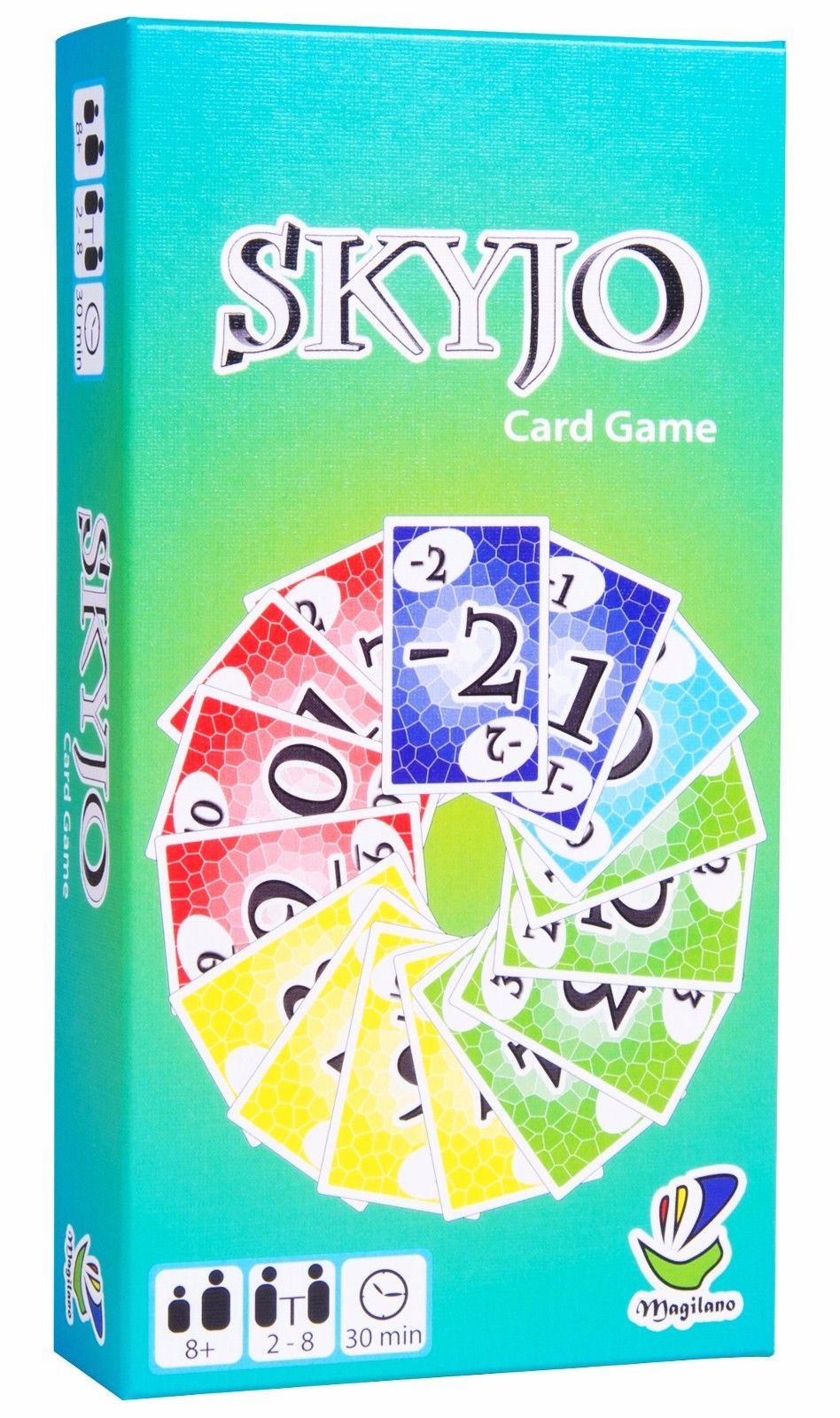 SKYJO, von Magilano - Das unterhaltsame Kartenspiel für Jung und Alt.