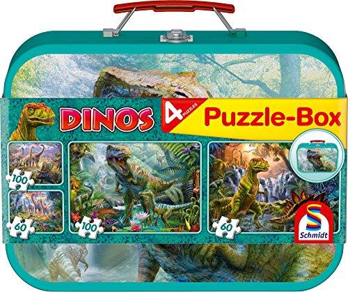 Schmidt Spiele Puzzle 56495 - Puzzle-Box im Metallkoffer