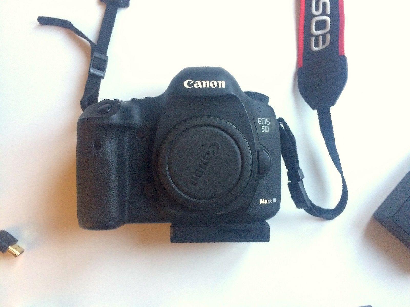 Canon EOS 5D Mark III 22.3 MP SLR-Digitalkamera - Schwarz