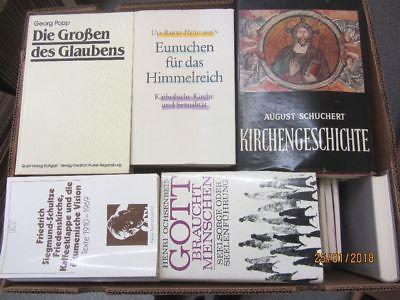 60 Bücher Theologie Religion Kirchengeschichte christliche Bücher