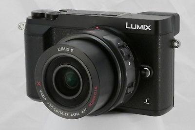 Systemkamera Panasonic Lumix GX80 mit Objektiv LUMIX G X Vario Powerzoom