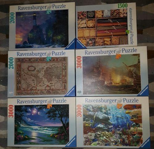Ravensburger Puzzle Sammlung 1500, 2000, 3000 Teile