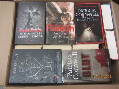 35 Bücher Romane Krimi Thriller Psychothriller  Top Titel Bestseller Paket 1