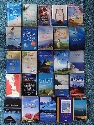 Bücherpaket 25 Liebesromane Frauenromane: Ahern Lennox Durst-Benning Nicholls