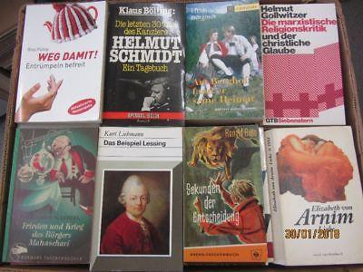 141 Bücher Taschenbücher verschiedene Verlage
