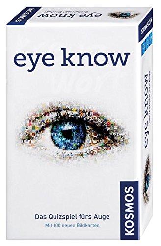KOSMOS Spiele 711276 - Kompaktspiel, Eye Know Mitbringspiel