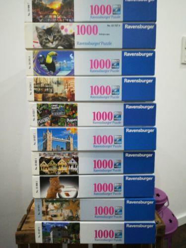 Puzzle 1000 Teile Ravensburger 10 Stück