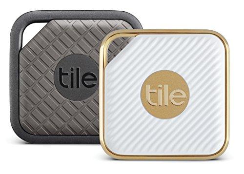 Tile Combo Pack–Tile Sport und Fliesen Stil Combo Pack, Schlüsselfinder. Handy Finder, alles Finder–2er Pack Sport & 2er Pack Stil