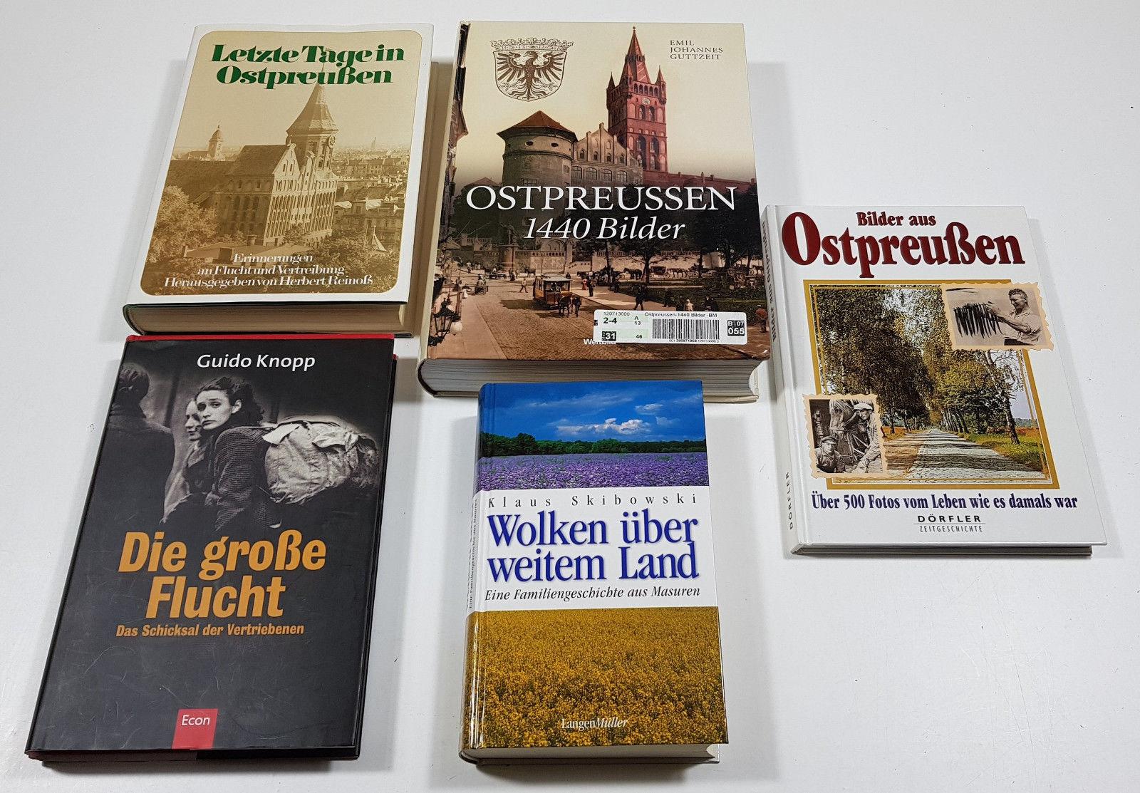 Büchersammlung Ostpreußen Masuren