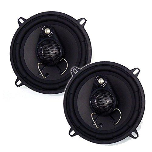 Inphase Lautsprecher SXT1335 13cm 460W inkl Einbauset für Ford Fiesta MK6 11/2001-08/2008 Türen vorne und hinten / Seitenwand