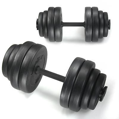 Hantel Set Kurzhanteln Hanteln Gewichte Hantelscheiben Kraftsport 30 KG 2x 15kg