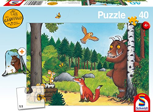Schmidt Spiele 56266 Der Grüffelo Kinderpuzzle, 40 Teile