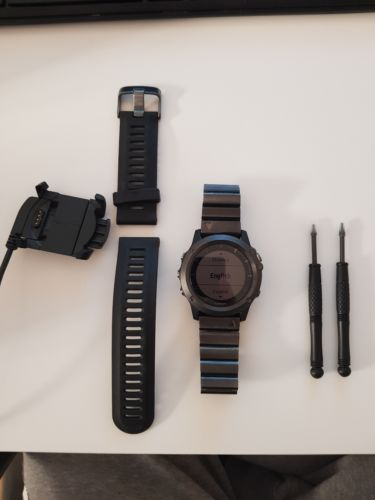 Garmin Fenix 3 Sapphire Edition, Sportuhr GPS Multisport, OVP