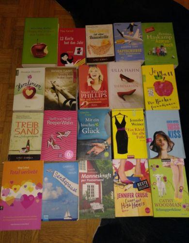 20 Frauenromane witzig spritzig freche Frauen Romane Bücher Bücherpaket TB Top!!