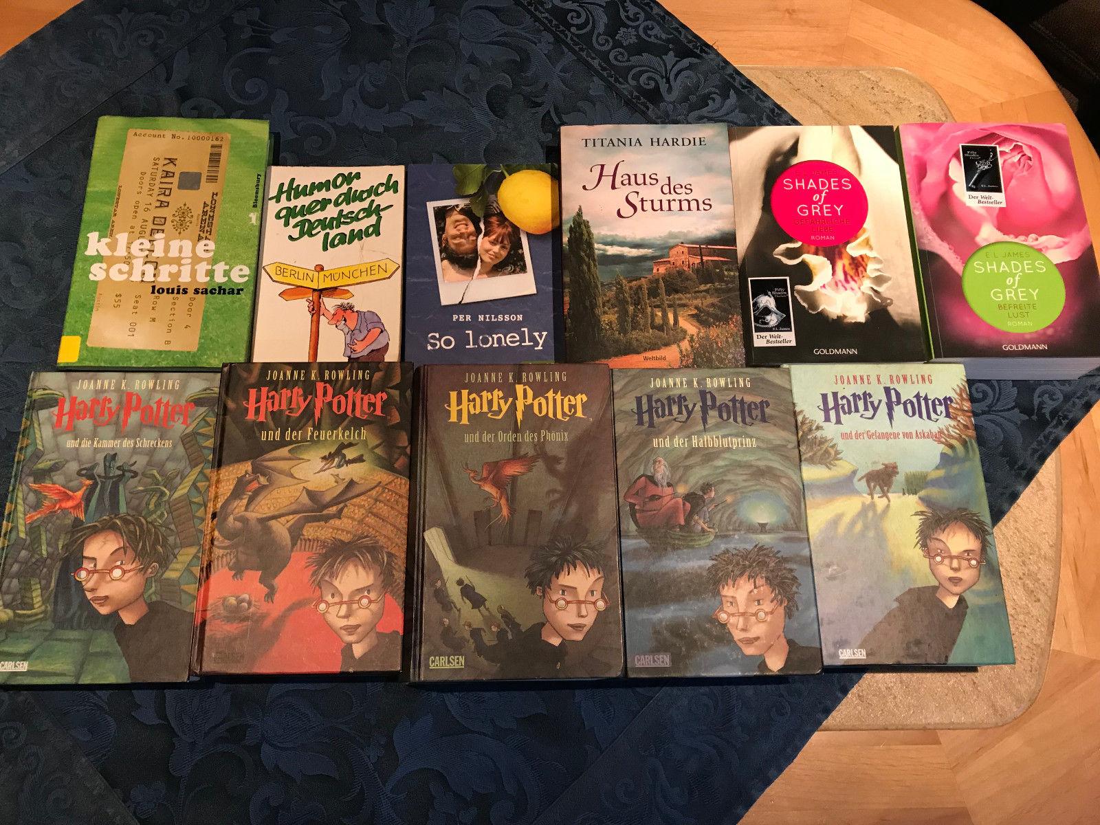 Harry Potter, Shades of Grey und einige andere Bücher Guter Zustand