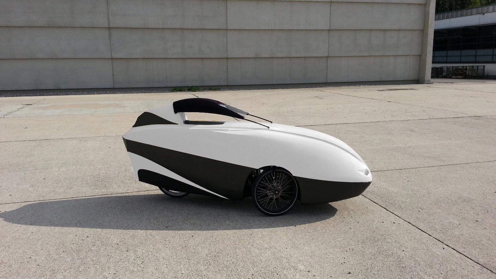 Velomobil CD Konstruktion Fertigung Trike Carbon Verkleidung Scorpion Velomobile