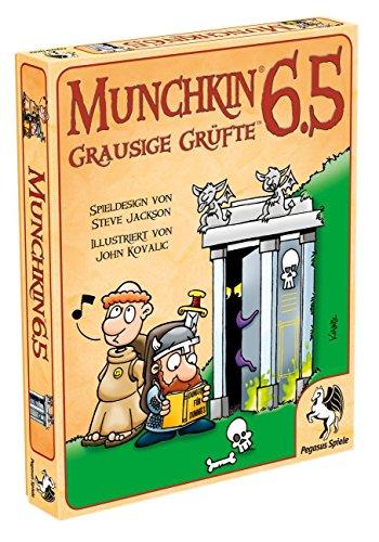 Pegasus Spiele 17219G - Munchkin 6.5, Grausige Grüfte