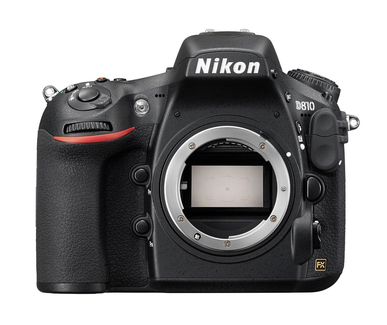Spiegelreflexkamera Nikon D810 36.3 MP DSLR, GEHÄUSE, GEBRAUCHTWARE