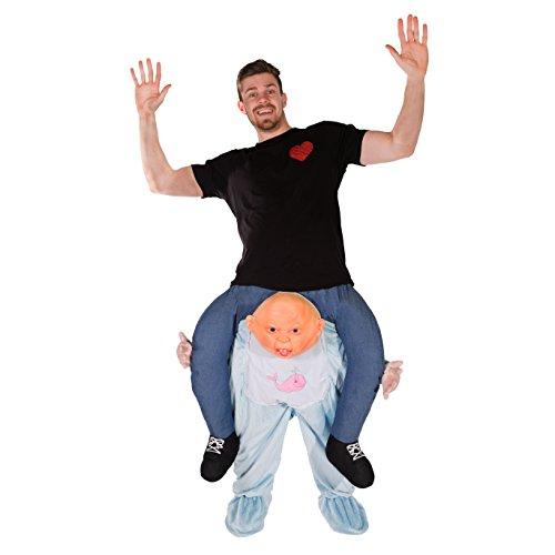 Aufsitzkostüm Baby für Erwachsene Ride Me Carry On