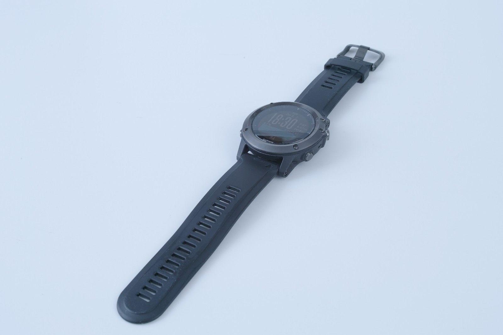 GARMIN Fenix 3 HR GPS Sapphire Edition Saphir Pulsmessung mit Brustgurt