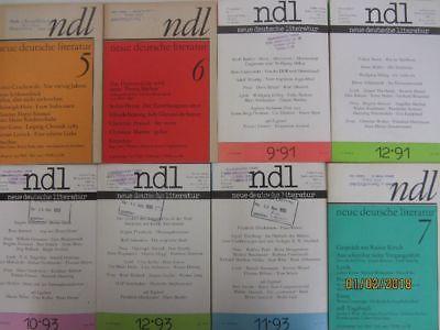 60 Bücher ndl neue deutsche literatur