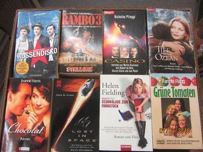 71 Bücher Taschenbücher Romane Filmromane Das Buch zum Film