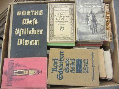70 Bücher antiquarische Bücher