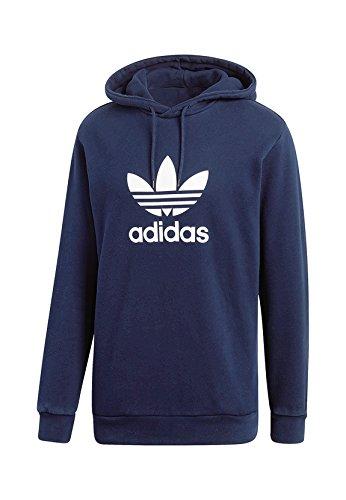 Adidas Originals Herren Sweater TREFOIL HOODY CX1900 Dunkelblau, Größe:L