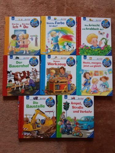 Wieso Weshalb Warum? Junior 8 Bücher für 2-4 Jahre