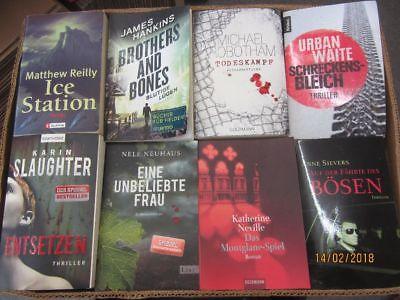 49 Bücher Romane Krimi Thriller Psychothriller  Top Titel Bestseller