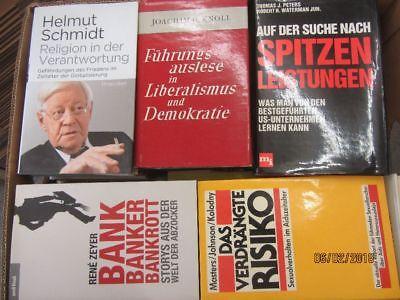 36 Bücher Sachbücher Wissenschaft Wirtschaft Politik Zeitgeschichte