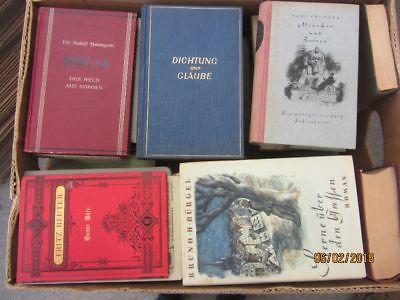 47 Bücher antiquarische Bücher