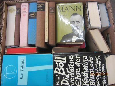 38 Bücher Romane deutsche Klassiker Böll Lenz Mann Grass Tucholsky u.a.