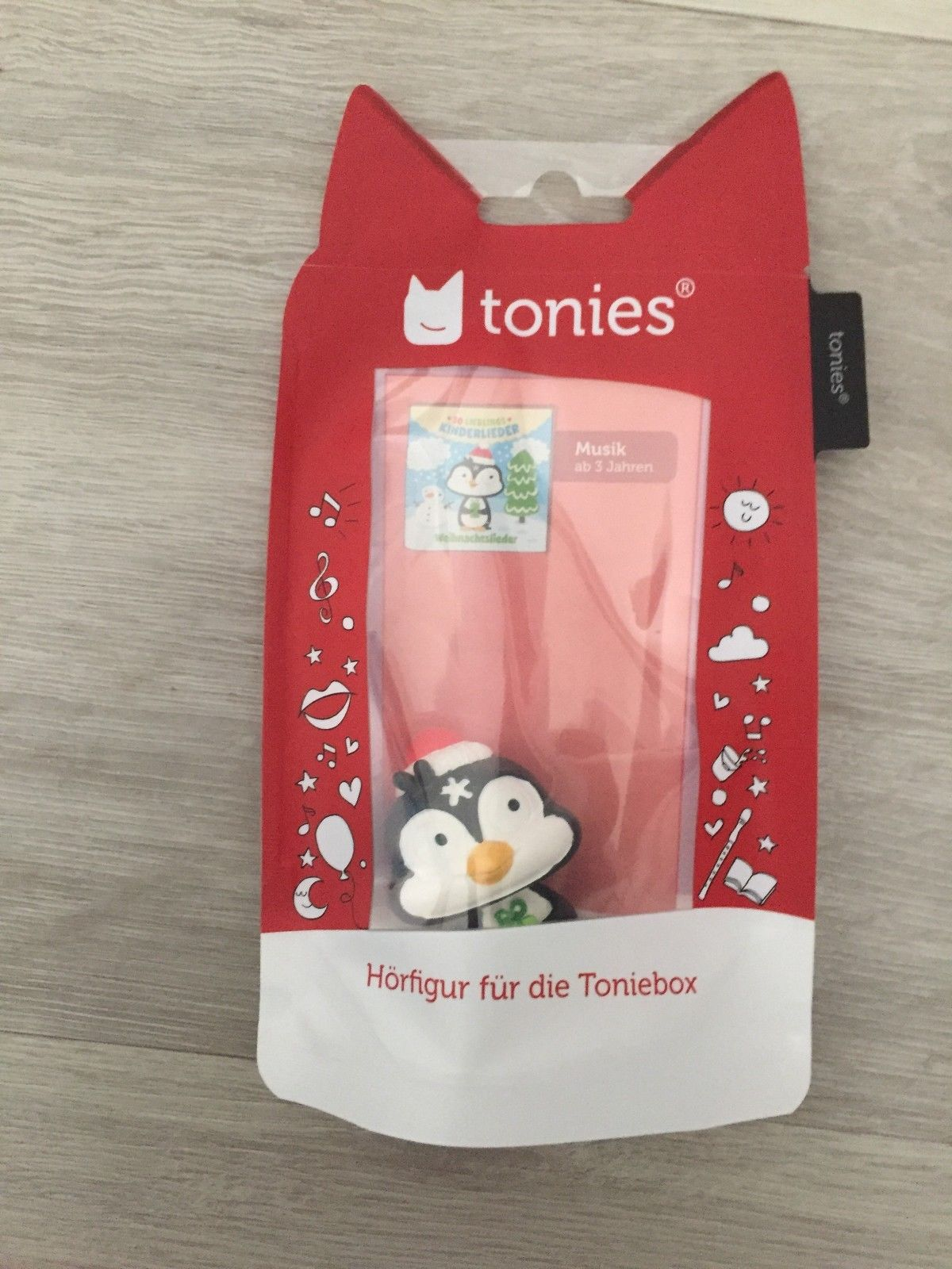 weihnachtslieder pinguin tonie tonies neu ovp. Black Bedroom Furniture Sets. Home Design Ideas