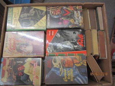 43 Bücher Romane alte Leihbücher Krimi Western Liebesromane Spionageromane u.a.