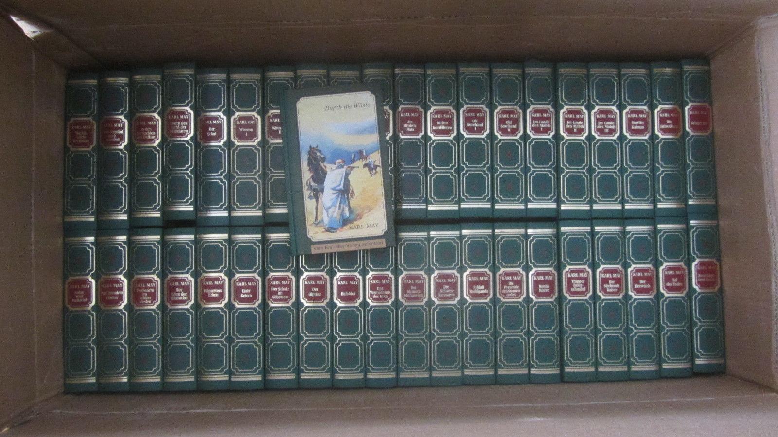 Karl May, komplette Sammlung, alle 41 Ausgaben des Tosa-Verlags, gut erhalten