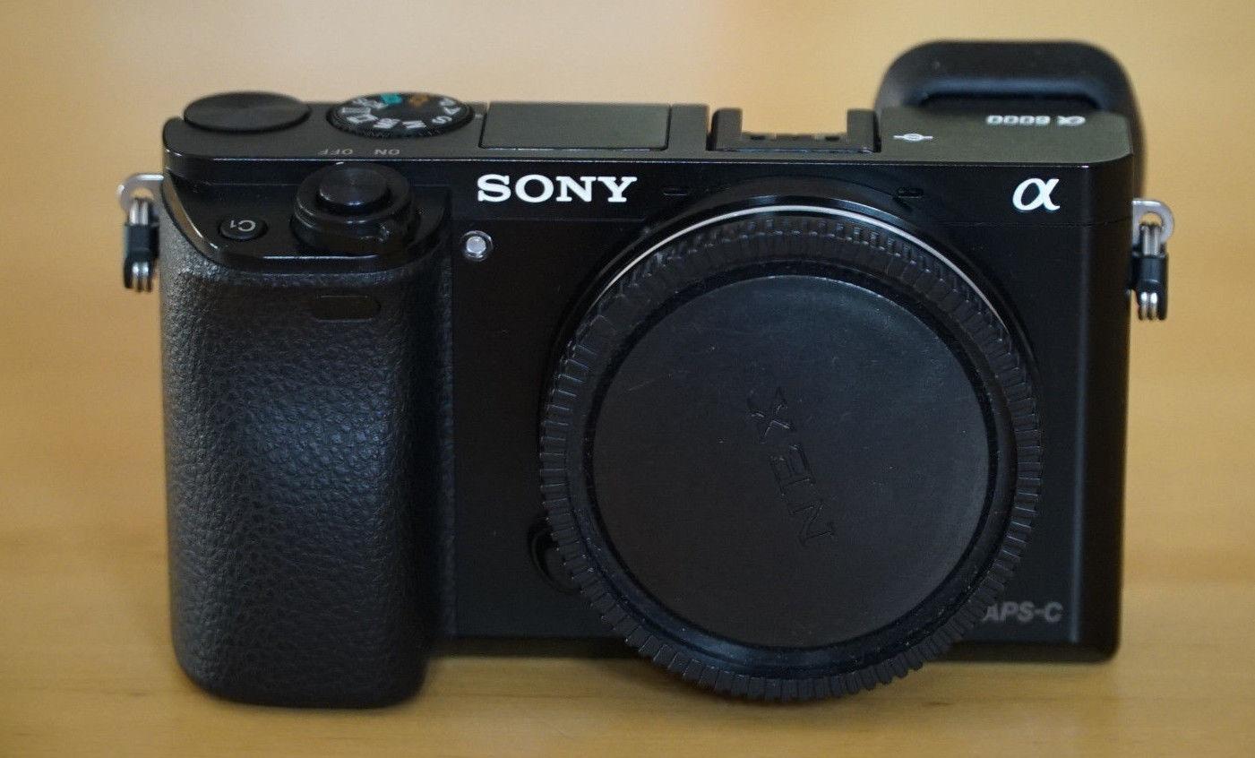 Sony Alpha ILCE-6000 24.3 MP Digitalkamera - Schwarz (Nur Gehäuse), Drittkamera