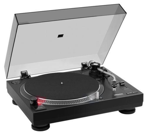 MEDION X64999 DJ Turntable Plattenspieler USB Stroboskopbeleuchtung Scratchen