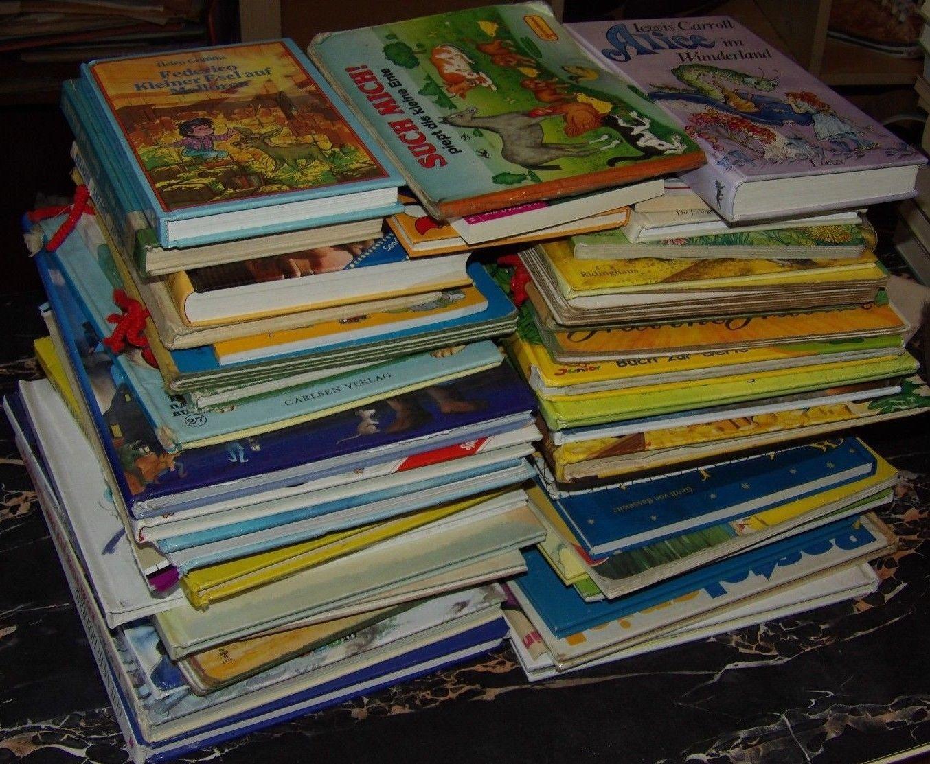 50 Bücher Kinderbücher Kleinkinderbücher Kindergartenbücher Bilderbücher