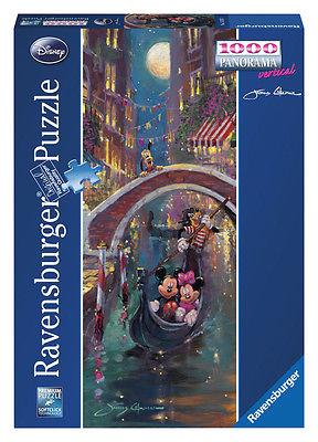 Ravensburger 15055 - Disney Venetian Romance, 1000 Teile Puzzle