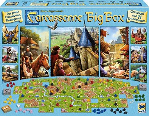 Schmidt Spiele Hans im Glück 48279 Carcassonne, Big Box 2017