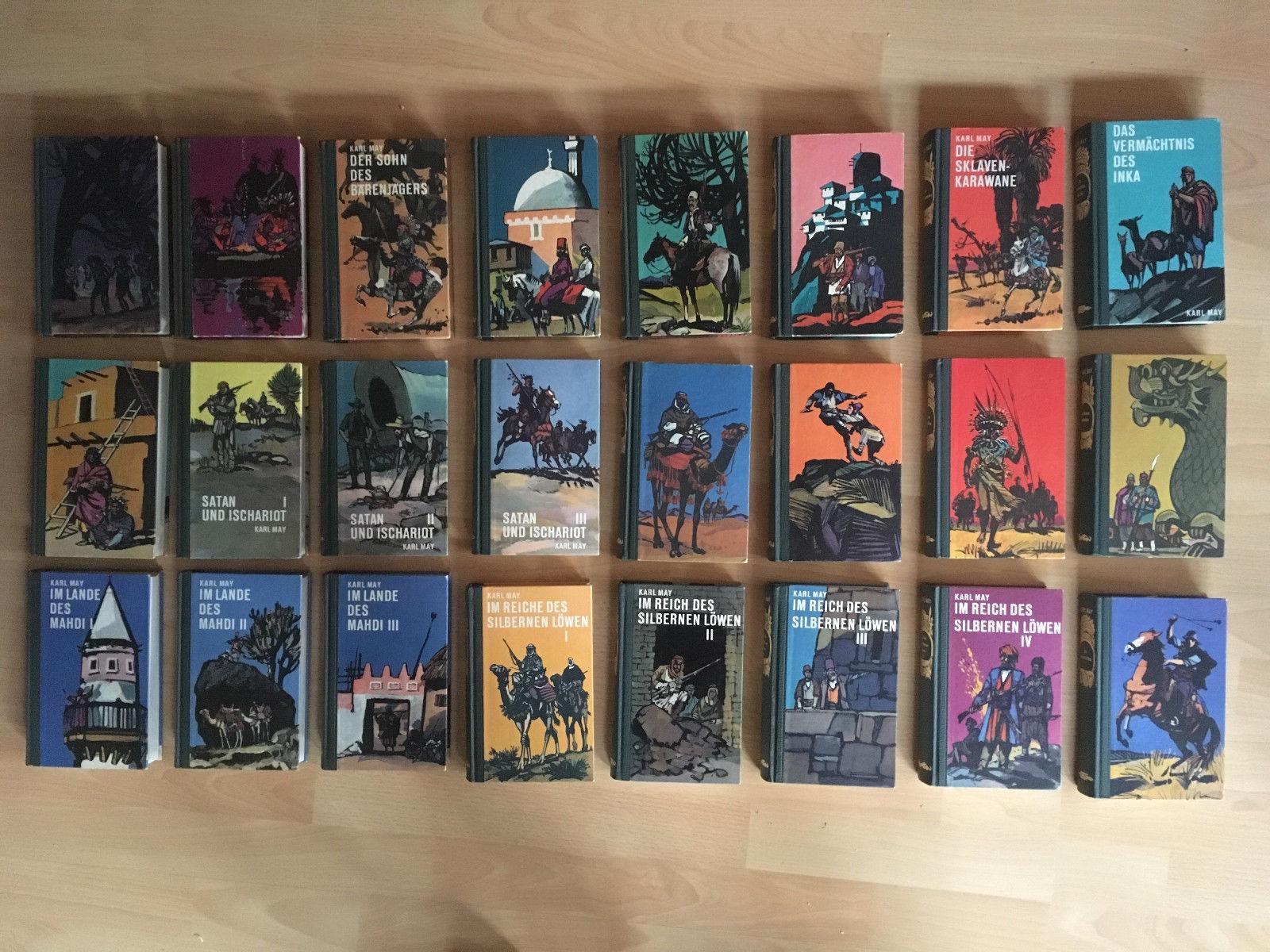 Karl May Sammlung 24 Bände