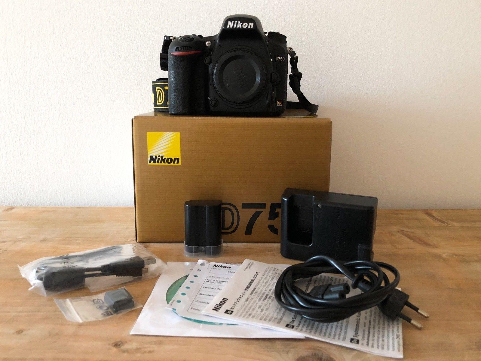 Nikon D750 Gehäuse / Body - wie NEU und in Topzustand!